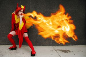 Cosplay: Flamethrower by Tomecko