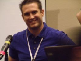 Bryce Papenbrook in his Q and A- Colossalcon 2014 by albertxlailaxx