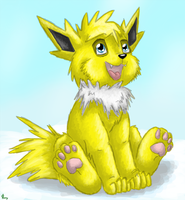 Jolteon by Leafeony
