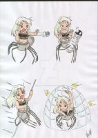 Monster Girls Arachne Attacks by Saiyuki-Maniac
