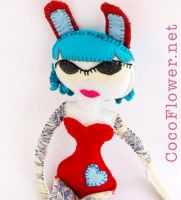 Pin Up Rag Doll by coco-flower