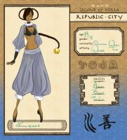 Republic City- Kierra by blackxxcherry