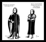 Snape vs. Grima by The-Black-Panther