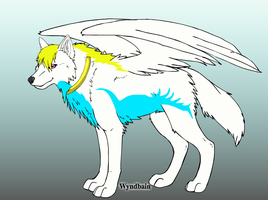 Erika (Wolf Form) by PenelopeXdg