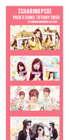 14.08.03 [Sharing PSD] Pack 5Signs Tiffany SNSD by hwangjungmina