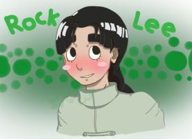 Rock Lee - Young and Youthful by Creativegreenbeans