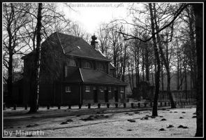 View towards the chapel by Miarath