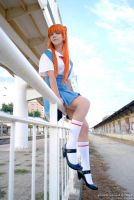 Asuka Langley - School Uniform by sophie-art