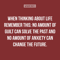 Guilt and anxiety quote by shadow45790