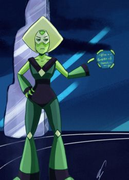 Peridot - 1st attempt by susan-chan