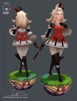 Edea Bravely Default by TheStoff