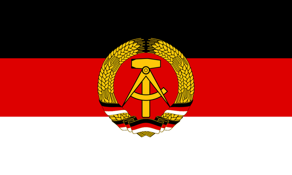 Alternate East German Flag by Sergios117