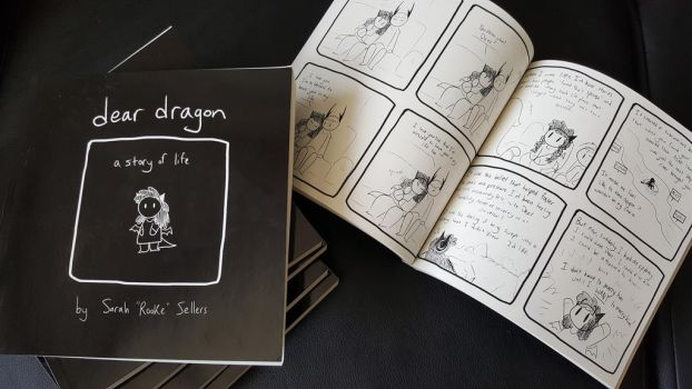 Dear Dragon - Printed by DragonwolfRooke