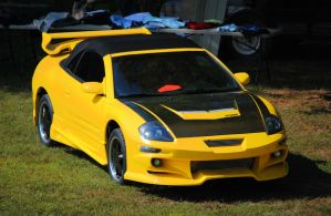 A Mitsubishi Eclipse Spyder GT by TheMan268