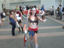 LOL  Female Draven by LinkSketchit