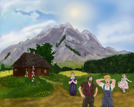 Mountain cottage by vancouverpeewee