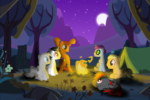 My Little Bronies: Camping Trip by SnivyIzTehBomb
