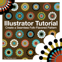 Create a Seamless Folk Pattern by PajkaBajka