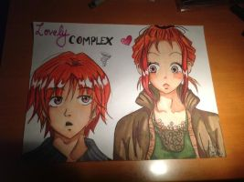 Lovely Complex~ Risa and Otani by Pyonni