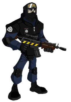 SCP Foundation: Mobile Task Force Operative by SeventhClass