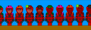 RVB dA Style:Red New Armor 2 by CometComics