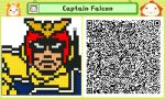 Captain Falcon Pushmo by Ability-King-KK