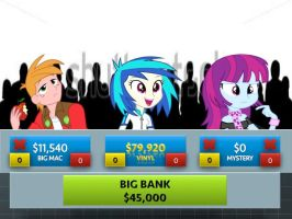 Vinyl Scratch Wins Press Your Luck! by j4lambert