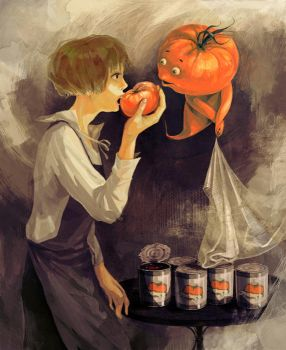 A monster of tomato. by kn00