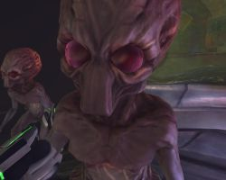 X-Com Enemies - Sectoid Commander by Dragonlord965