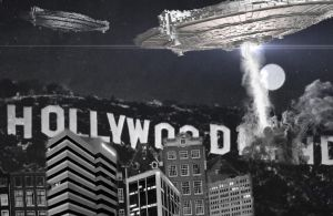 What changed the HollyWood sign by UltraDISASTER