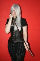 Gothic-punk like with sword 1 by Noirin-Stock