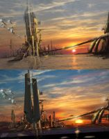 Matte Painting by frenic