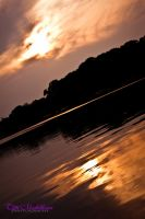 Reflected Sunset by ambrotos
