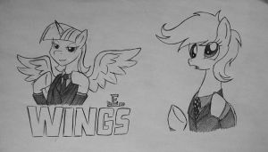 Ponies and aliens... by Ricky47