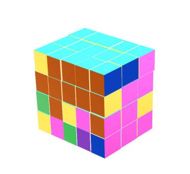 The Almost finished Rubik Cube by technoborg