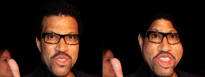 Lionel Richie Liquid Face by ThatPuggy