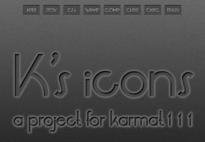 K's Dock Icons by MrPorter