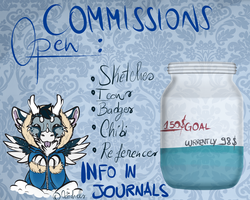 OPEN FOR COMMISSIONS by Octochels