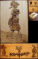 Sora - Kingdom Hearts by HevyPyrography