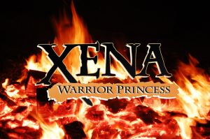 Xena: Warrior Princess - In flames by thredith