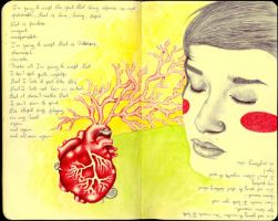 Mixed Feelings - journal30 by LadyOrlandoArt