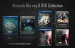 Musicals Blu-ray and DVD Collection - Folder Icons by ArtClem
