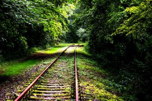 Railway to Nothing by fourthdayofgrace