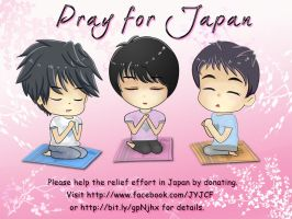 JYJ Pray for Japan by iamMiki