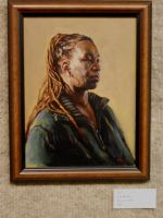 Portrait Accepted for Show by grobles63