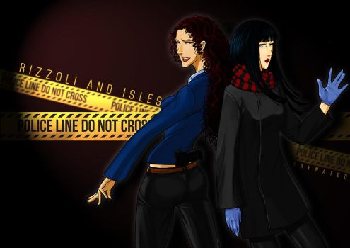 Rizzoli and Isles by Raynated