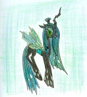Queen Chrysalis by Noxulous