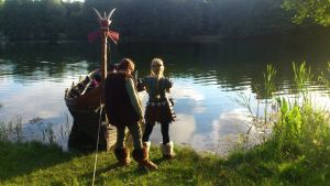 HTTYD Cosplay: Hiccup and Astrid by HicksBerlin