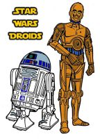 Star Wars Droids by Beast72