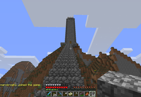 The Pointless Cobblestone Tower C: by Deathykinz